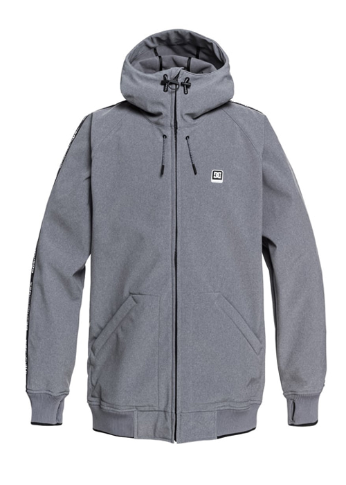 디씨/DC 보드복 스펙트럼 자켓 #7DC802WX / SKPH (NEUTRAL GRAY HEATHER) 1819 DC SPECTRUM JKT