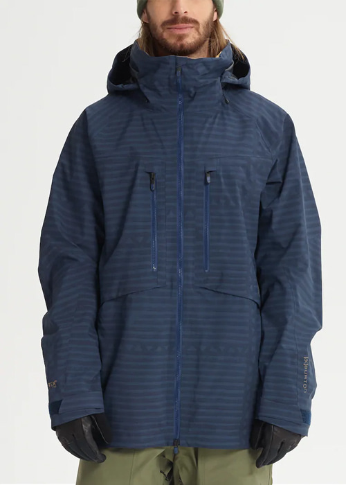 버튼 AK 고어텍스 호버 자켓 #7B2804SP / YURT STRIPE 1819 BURTON AK GORE-TEX HOVER JACKET