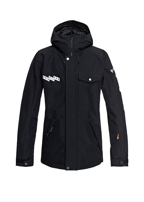 퀵실버 보드복 인더 후드 자켓 #7QS801VJ / KVJ0 (BLACK) 1819 QUIKSILVER IN THE HOOD JK