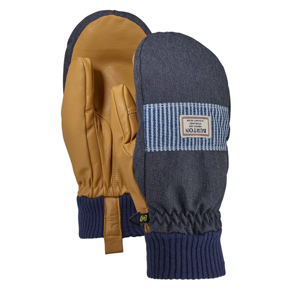 버튼 글러브 댐 밋 #DB2813DN / DENIM/OPEN ROAD STRIPE 1819 BURTON DAM MITT