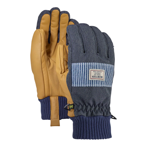 버튼 글러브 댐 글러브 #DB2804DN / DENIM/OPEN ROAD STRIPE 1819 BURTON DAM GLOVE
